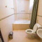 clean bright toilet ( bathroom )