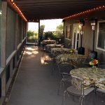 Weather permitting, we share all of Oregon's beauty with you in our screened breakfast dining pa