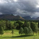 views of Catbells and the fells