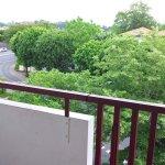 Vue balcon depuis chambre 313