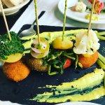 Croquetas de falafel