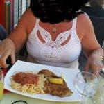 escalope à la milanaise et ses pâtes avec un tiramisu pour deux valeur SANS GROUPON pour 66 euro