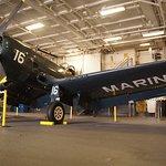 Corsair F4U on display