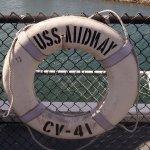 Life preserver USS MIDWAY
