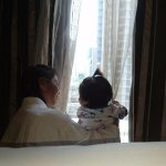Lola and apo enjoying the view :)