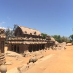 A Panoramic shot of the ancient monuments...