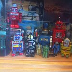 Some retro robots!