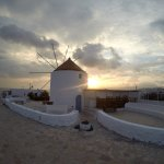Windmill nearby - sunset views