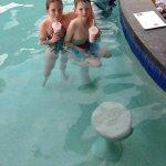 Kids loved the swim up bar milkshakes!