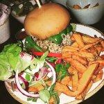 Vegan burger heaven