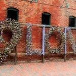 Padlock wall art