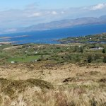 The view into West Cove having walked from Caherdaniel.