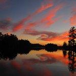Evening Shot Big Rideau Lake Boat Rentals