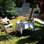 Pequeno Almoço no Jardim
