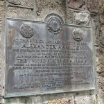A plaque commemorating Alexander Hamilton