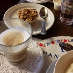 Capuccino e granola da casa