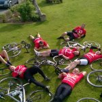 Charity cycle event (Chester to Scafell Pike)