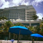Ritz Carlton from beach
