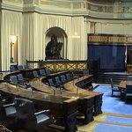 The legislature chamber