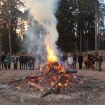 Easter Bonfire on April in Seurasaari