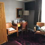 Room 201 - lovely large room with a great view from the window.