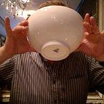 Excellent bouillabaisse: good to the last drop
