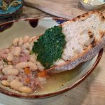 Ham hock with white beans