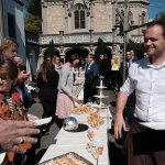 Patrik Dahinden am Apéro-Tisch