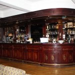 The Library Bar- wonderful room to relax and enjoy a drink!