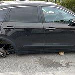 Wheels stolen in NYLO Hotel Warwick, RI Parking Lot