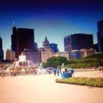Amazing Chicago backdrop
