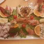 Selected Delicates of Seafood in fusion taste