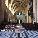 church nave and font