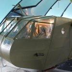 Planeur waco tiré par l'avion Dakota
