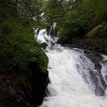 The Swallow Falls at Betws-y-Coed
