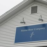 Maine Beer Company, easily visible from the road
