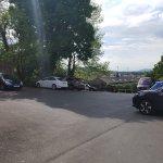Main carpark next to the hotel