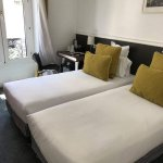 Twin room. Comfortable for 2 adult females, aged 26-35