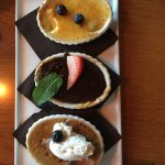 Creme Brulee trio...my fav was the chocolate (of course)!
