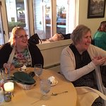 My wife and mother in law having a fabulous time at Hedges!!