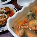 Their sinigang na hipon is good for 3-4 persons.