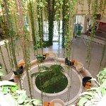 Hall d'entrée de la thalasso
