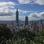 View of Taipei 101 from Elephant Mountain