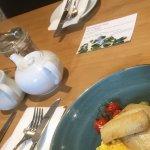 Smoked haddock and scrambled eggs