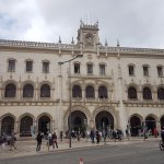 Rossio Train Station: Facade