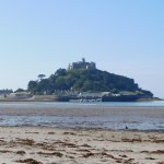 Low tide at St Michaels Mount