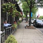 Interior, menu, patio and bill!