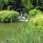 grounds and sculpture in the fine Gulbenkian gardens