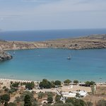 One of the views from Lindos.
