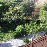 Hotel garden, Kasbah Bab Ourika
